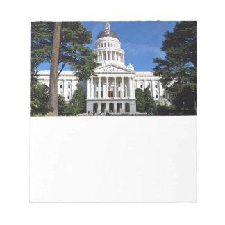 CA state capitol building - Sacramento Notepad