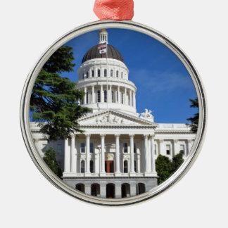 CA state capitol building - Sacramento Christmas Ornament