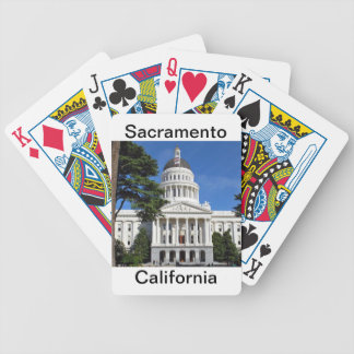 CA state capitol building - Sacramento Bicycle Playing Cards