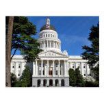 CA state capitol building - Sacramento Postcard