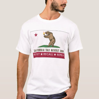 CA Tax Revolt 2009-We're Not Gonna Take It T-Shirt