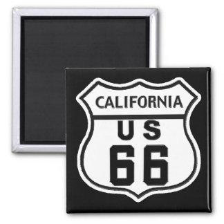 CA US ROUTE 66 MAGNET