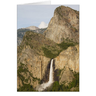 CA, Yosemite NP, Bridalveil Falls Greeting Card