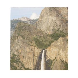CA, Yosemite NP, Bridalveil Falls Notepad