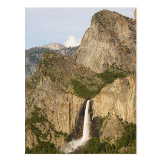 CA, Yosemite NP, Bridalveil Falls Postcard