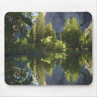 CA, Yosemite NP, El Capitan reflected in Merced Mouse Pad