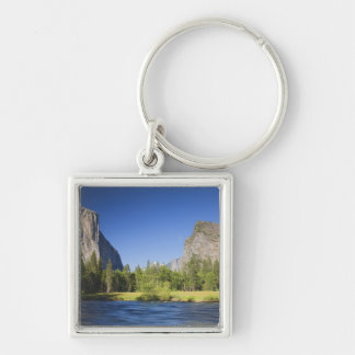 CA, Yosemite NP, Valley view with El Capitan, Keychain