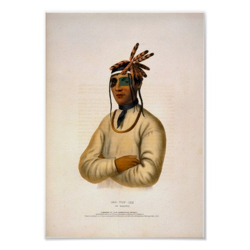 Caa-Tou-See, An Ojibway print