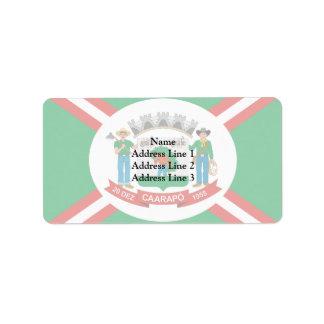 Caarapo Matogrossodosul Brasil, Brazil Personalized Address Labels