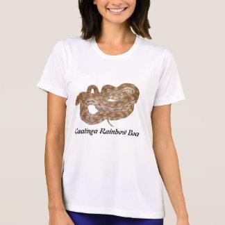 Caatinga Rainbow Boa Ladies Micro-Fiber T-Shirt