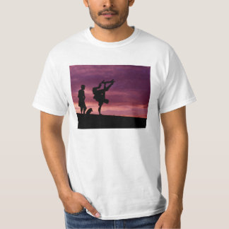 Cab and Lance, Sunset over Milan Skateboard TShirt