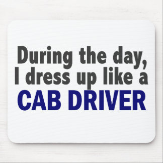 Cab Driver During The Day Mouse Pad