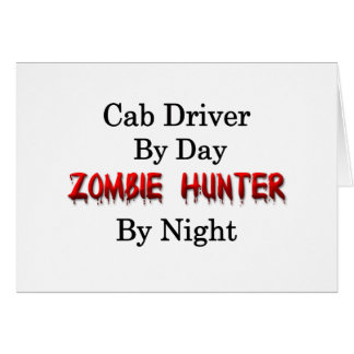 Cab Driver/Zombie Hunter Card