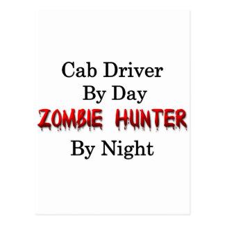 Cab Driver/Zombie Hunter Postcard