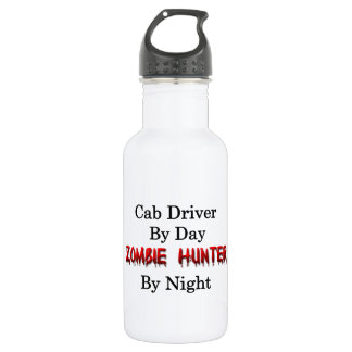 Cab Driver/Zombie Hunter Water Bottle