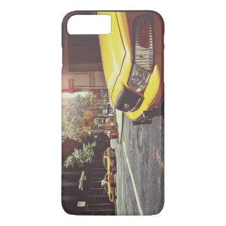 Cab Themed, Yellow Taxi Cab Back And Forth In New iPhone 8 Plus/7 Plus Case