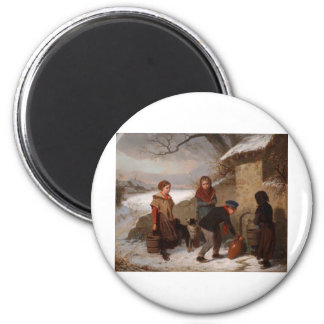 Cabaillot Lassalle Lou 2 Inch Round Magnet
