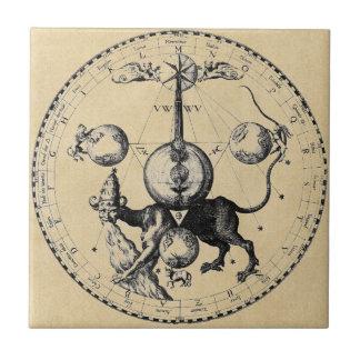 Cabala Emblem Mandala Tile