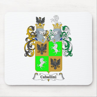 Cabalini Family Hungarian Coat of Arms Mouse Pad