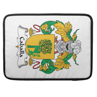 Caballa Family Crest Sleeves For MacBook Pro