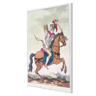 """Caballería Archer, de """"L'Antica Roma"""", 1825 (color Impresiones En Lona Estiradas"""