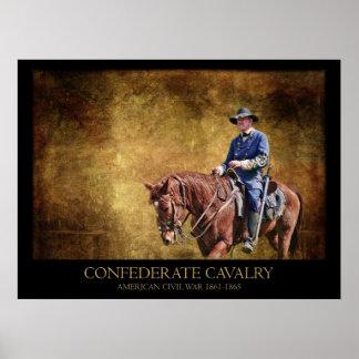 Caballería confederada impresiones