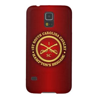 Caballería de CSC -1st Carolina del Sur Carcasa Galaxy S5
