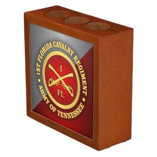 Caballería de CSC -1st la Florida Organizador De Escritorio