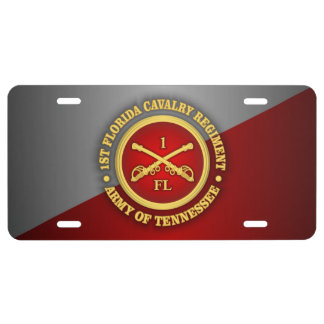 Caballería de CSC -1st la Florida Placa De Matrícula