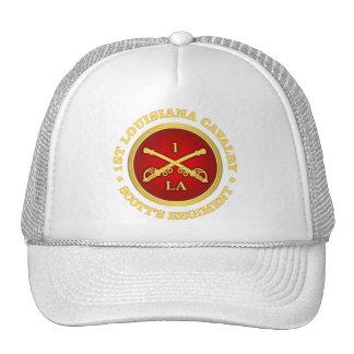 Caballería de CSC -1st Luisiana Gorros Bordados