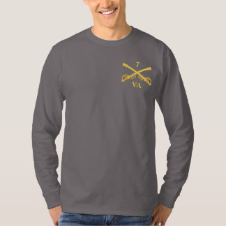 Caballería de CSC -7th Virginia (la caballería de Poleras