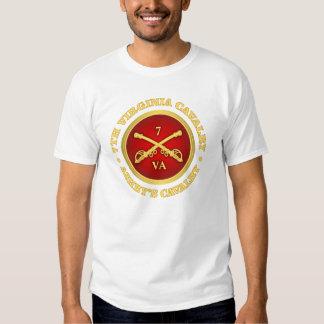 Caballería de CSC -7th Virginia (la caballería de Remera