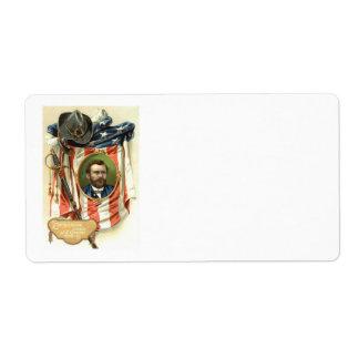 Caballería de la espada de Ulises S Grant de la ba Etiquetas De Envío
