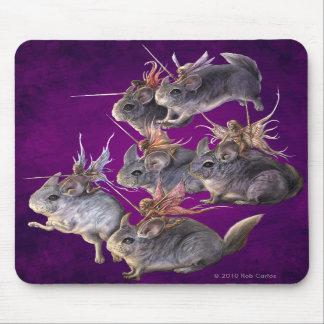Caballería Mousepad de la chinchilla Alfombrilla De Ratón