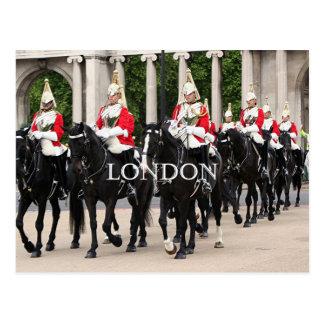 Caballería real del hogar, Londres Tarjeta Postal