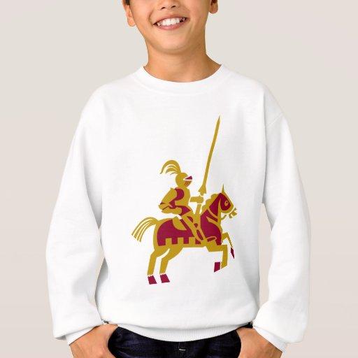 Caballero a caballo remera