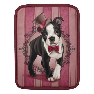 Caballero Boston Terrier Funda Para iPads