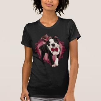 Caballero Boston Terrier Remeras