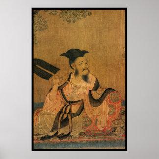 Caballero chino (ii) póster