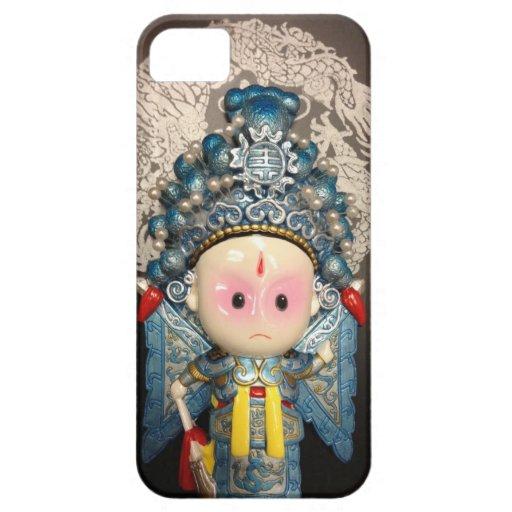 Caballero chino iPhone 5 funda