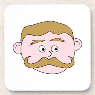 Caballero con el bigote posavaso