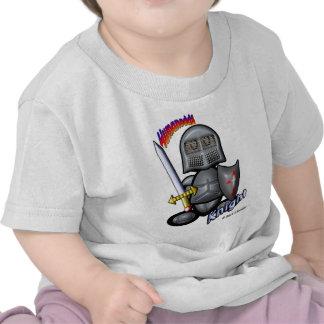 Caballero (con los logotipos) camiseta