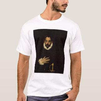 Caballero con su mano en su pecho, c.1580 playera
