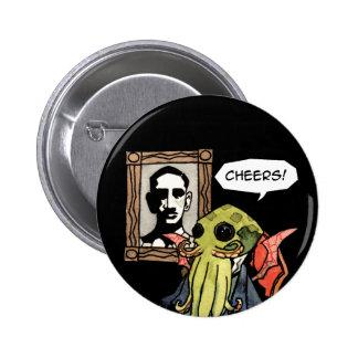 """Caballero Cthulhu: Alegrías - 2 1/4"""" botón redondo Pin Redondo De 2 Pulgadas"""