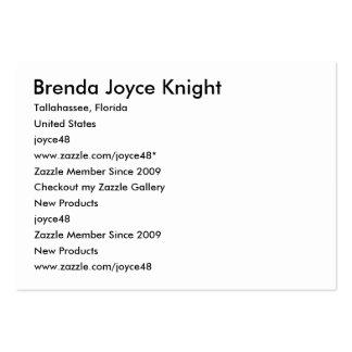 Caballero de Brenda Joyce, Tallahassee, la Tarjetas De Visita Grandes