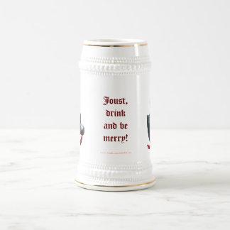 Caballero de ébano jarra de cerveza
