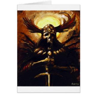 Caballero de la muerte tarjeta