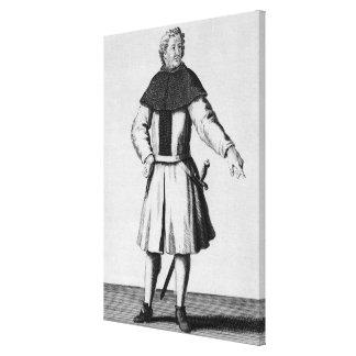 Caballero de la orden de Alcantara, c.1300 Impresión En Tela