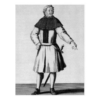 Caballero de la orden de Alcantara, c.1300 Tarjetas Postales