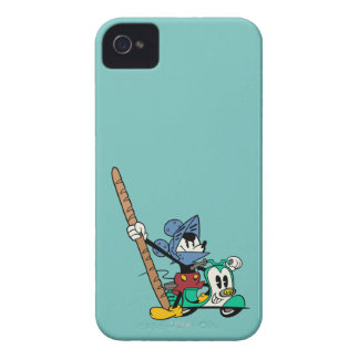 Caballero de Mickey el | Bagette del francés iPhone 4 Case-Mate Protector